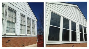 siding windows bef aft