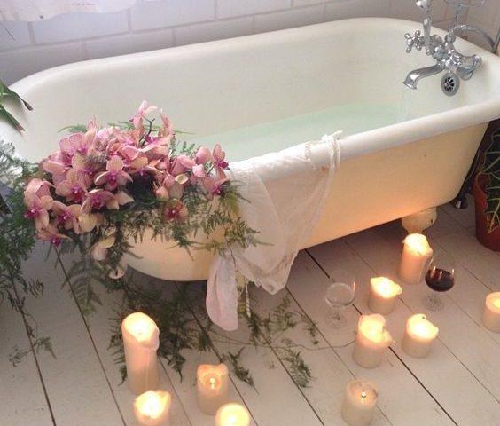 romantic bath spa