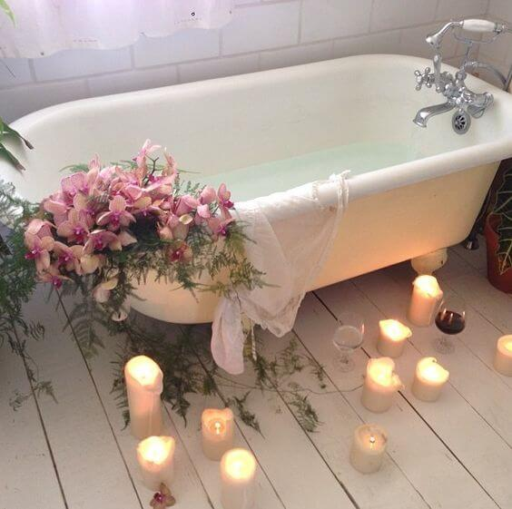 romantic bath spa